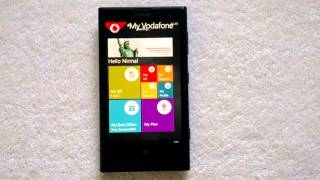 My Vodafone India App for Windows Phone 8