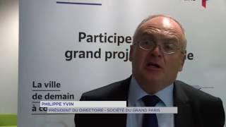 Transport : rentrée de la société du Grand Paris