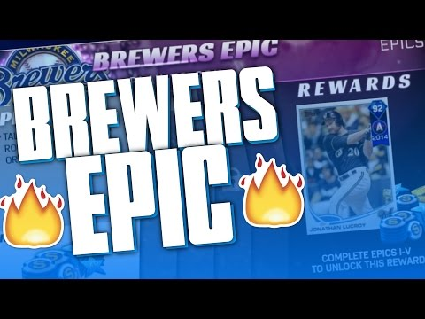 BREWERS EPIC GRIND FOR 92 JONATHAN LUCROY! | MLB THE SHOW 17 DIAMOND DYNASTY