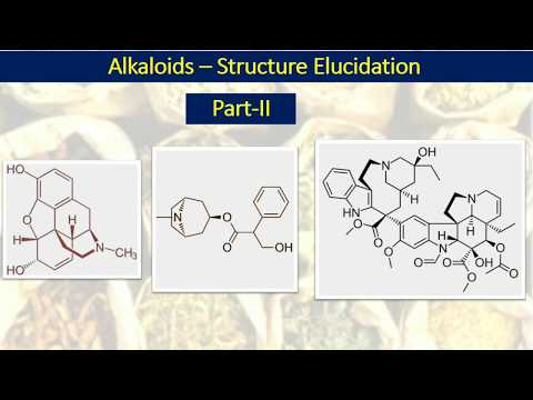 Alkaloids-II: Structure Elucidation Of Alkaloids