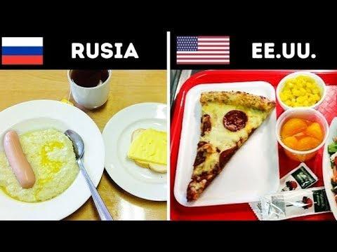 Almuerzos escolares que probablemente nunca habías escuchado mencionar