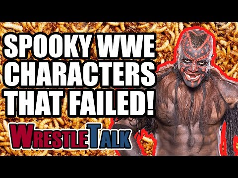 5 Spooky WWE Characters That FAILED!