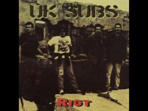 UK SUBS - Riot