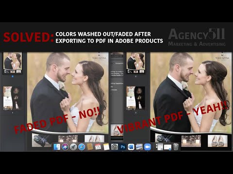 Solved: Colors Washed Out or Faded After Exporting PDF in Adobe Photoshop