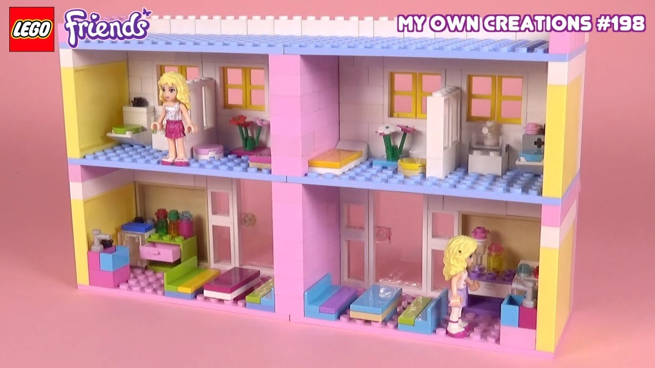 Apartment 003 | LEGO Friends My Own Creations #198 - YouTube