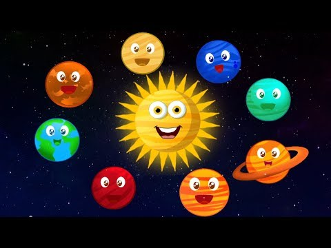lagu planet tata surya untuk anak-anak belajar planet galaksi planet song Kids Educational Rhymes