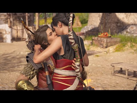 Assassin's Creed Odyssey - Full Odessa Romance (With Choices) - YouTube