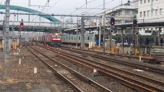 2020.1.22貨物列車3054レ EH500-61号機牽引