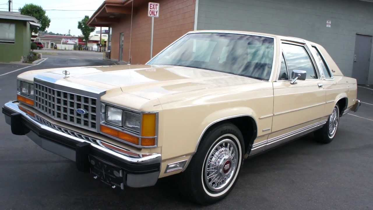 Ford Ltd Crown Victoria  Door Business Coupe  Owner