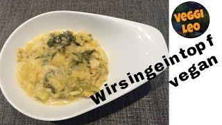 Rezept Wirsingeintopf im First Miltikocher | wie Instant Pot | vegan