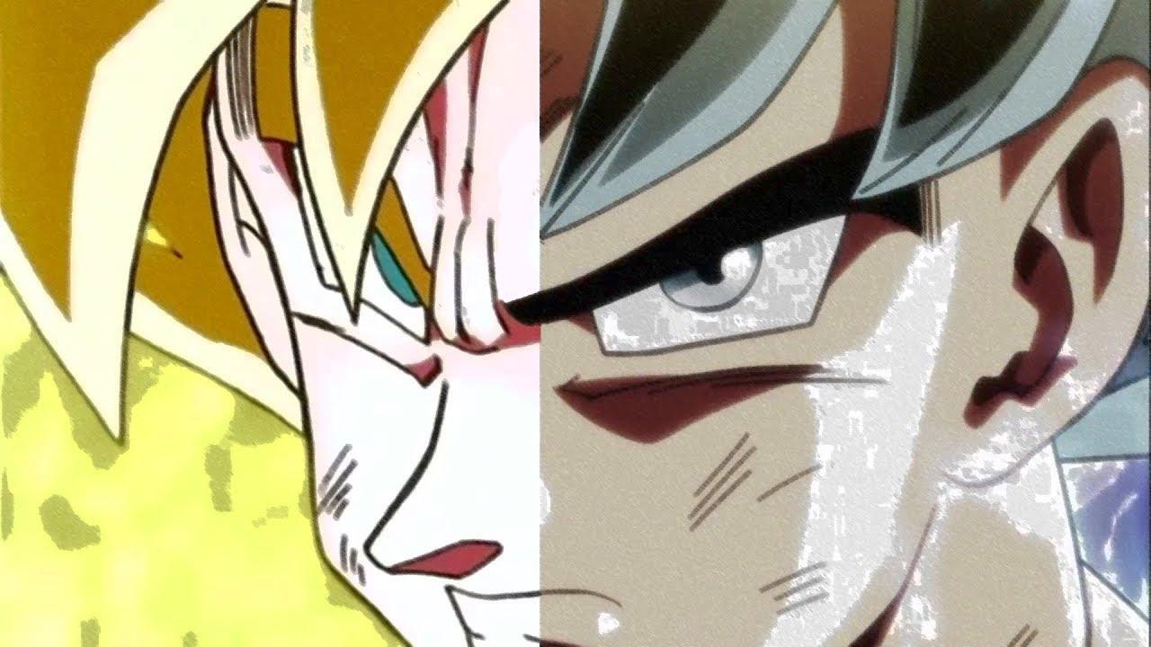 Goku vs broly fan animation - 1 2