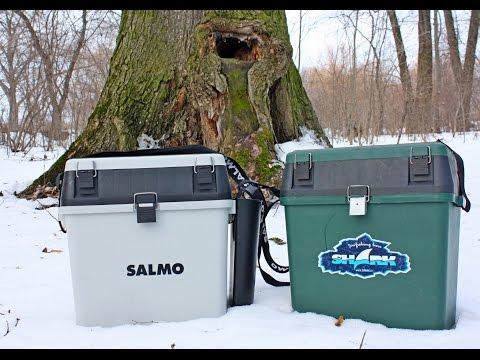 ящик рыболова mikado для зимней рыбалки uabm-329