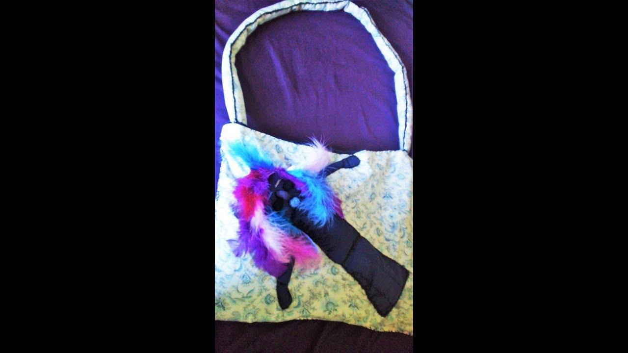 Fabric Yemaya Art Doll Handbag Part 2