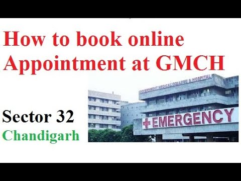 How To Book Online Appointment For Gmch Government Medical College