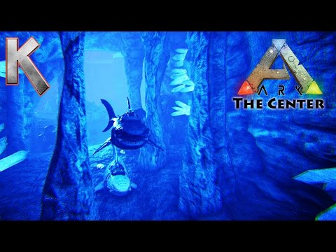 Underwater Caves on The Center - Pooptopia - Season2 E59 - Ark Survival Evolved
