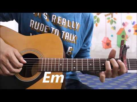 Aapke Pyaar Mein Hum Savarne Lage - Hindi Guitar cover lesson chords Romantic Easy