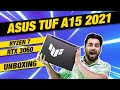 Asus TUF A15 2021 Unboxing - Asus TUF A15 Ryzen 7 5800H + RTX 3060 UNBOXING and OVERVIEW (2021) 🔥🔥