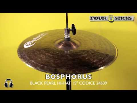 """Bosphorus Black Pearl Hi-Hat 15"""" - VENDUTO - SOLD"""