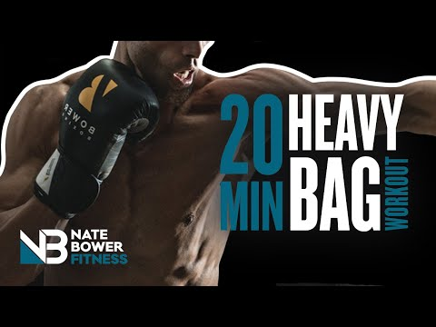 Ultimate 20 Minute Heavy Bag Boxing Workout Round 9