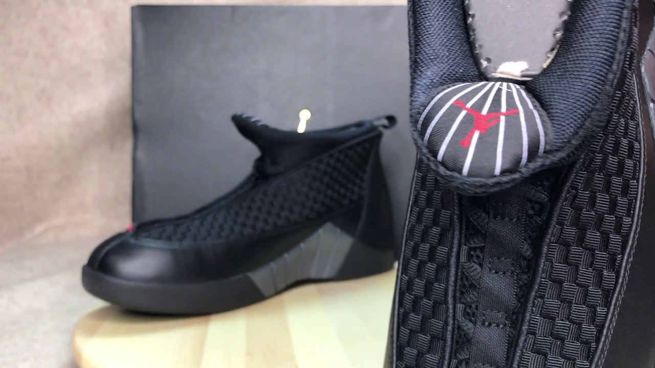 faca909a165762 2017 Jordan 15 Retro Stealth Unboxing   Review - YouTube