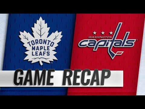 Matthews, Kapanen power Leafs past Capitals, 4-2