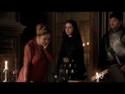 Mary slaps Catherine - {Reign - Liege Lord}