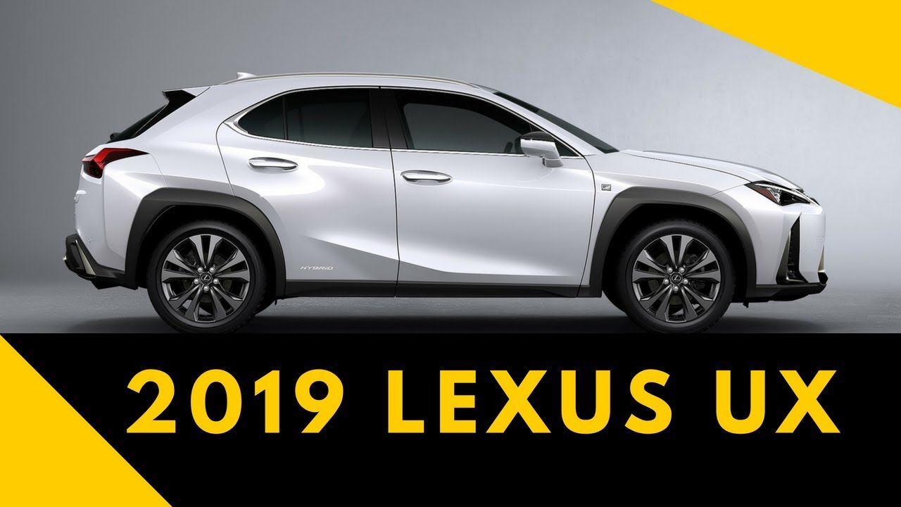 2019 Lexus Ux Price And Specs You