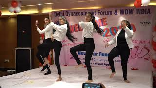 Remix Music Dance performance by WOW India Members