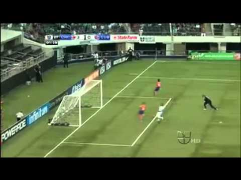 CONCACAF Gold Cup 2011 Group A Costa Rica 5-0 Cuba - Highlights 06/05/2011