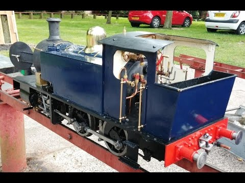 Jill's Journey. 5 inch gauge  0-6-0 locomotive