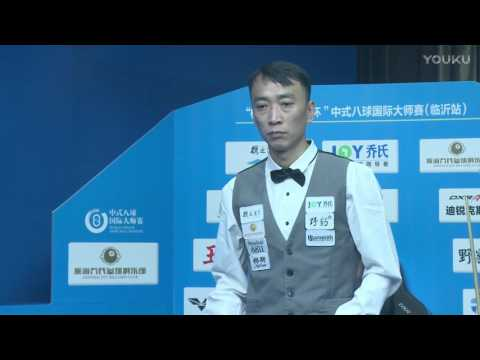 Li He VS Zhang Yue - World Chinese 8 Ball Masters Tour 2017-2018 Stop 1 Linyi