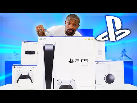 My Massive PlayStation 5 Unboxing!