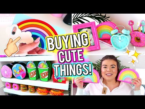 BUYING CUTE THINGS! + Apartment Update!