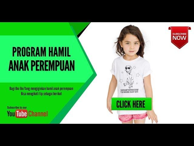 Program Hamil Anak Perempuan