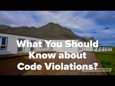 What You Should Know About Code Violations?