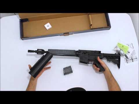 Carabina Crosman M4-177 4,5mm 625 FPS ação  de bombeamento