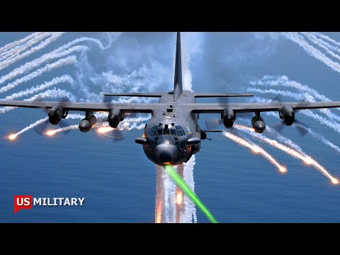 U.S Air Force is Testing a New Laser Weapon on The AC-130J Gunship