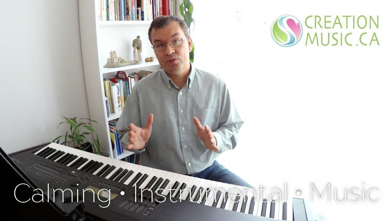Creation Music is creating Christian calming instrumental music