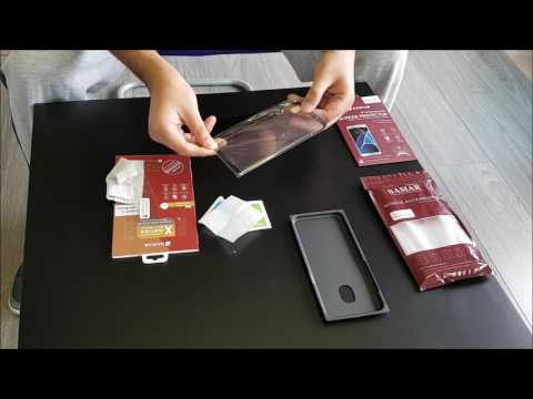 How to Apply SAMAR S8 and S8+ Tempered Glass Screen Protector