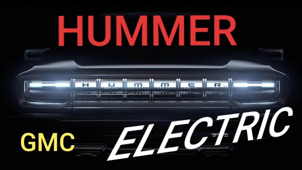 GMC HUMMER EV - ELECTRIC CAR - YouTube