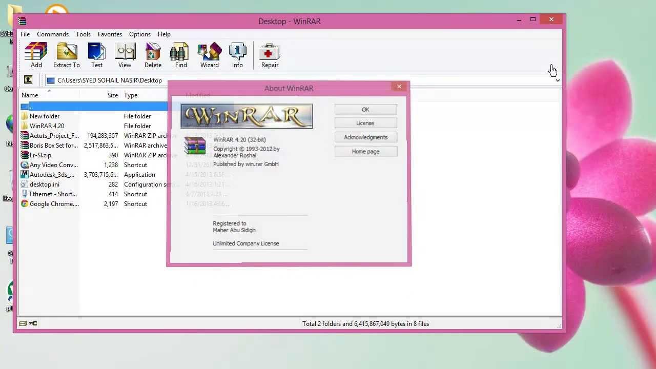 winrar 4.20 64 bit full version free download