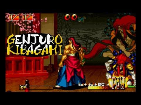 Samurai Shodown III: Genjuro Playthrough / Lvl-8 Bust 【60fps】