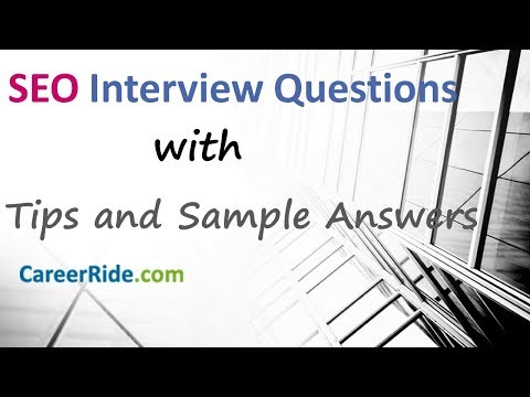 SEO Interview Questions And Answers - For Freshers And Experienced Candidates