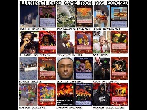 Illuminati Card Game-Did it predict 911 & the Coming New World Order