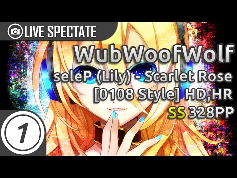 WubWoofWolf | Lily - Scarlet Rose [0108 Style] +HD,HR SS 328pp w/Chat Reaction