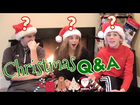 It's Our Christmas Q & A! *We answer the most crucial Christmas questions*