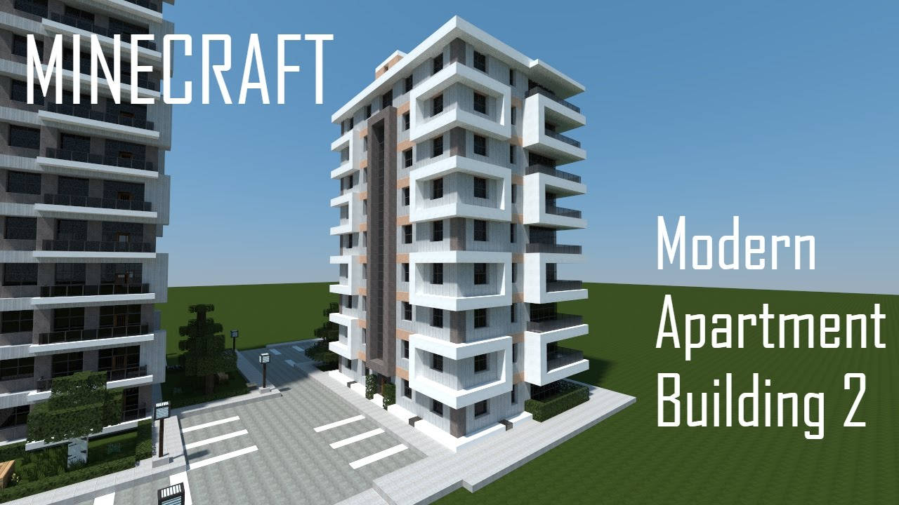 Minecraft Modern Apartment Building 2 + Download