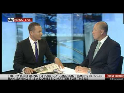 Australia works with the US for Immigration Ban