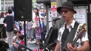 サンリバー柏里 2015年7月11日 夜店 LIVE! バンド 【 ええ...