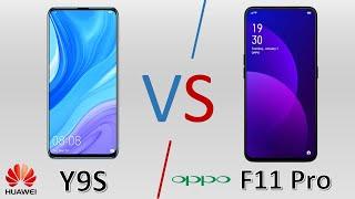 Huawei Y9s vs Oppo F11 Pro